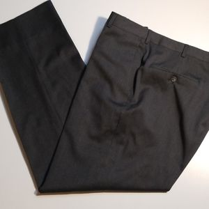 Burberry London Gray Wool Dress Pants 38x31